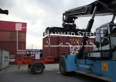 Container on Truck