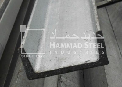 Galvanized UPN Steel Channel Stock In Warehouse