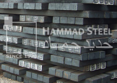 Steel Billet Stock In Warehouse