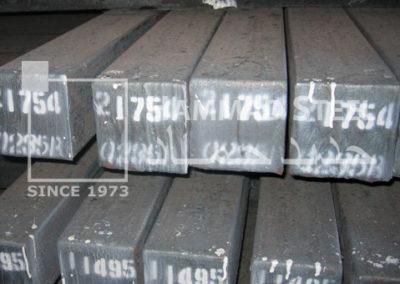 Steel Billet Stock In Warehouses
