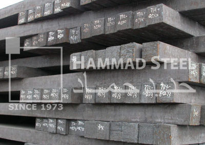 Steel Billet Stocks In Warehouse