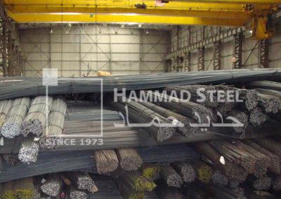 Steel Rebar Stock In Warehouse